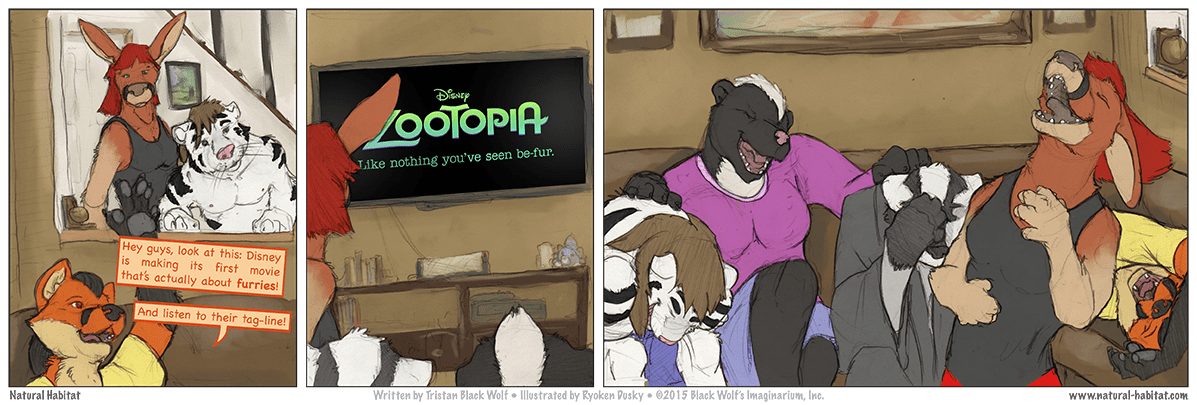 STRIP 000 — Zootopia