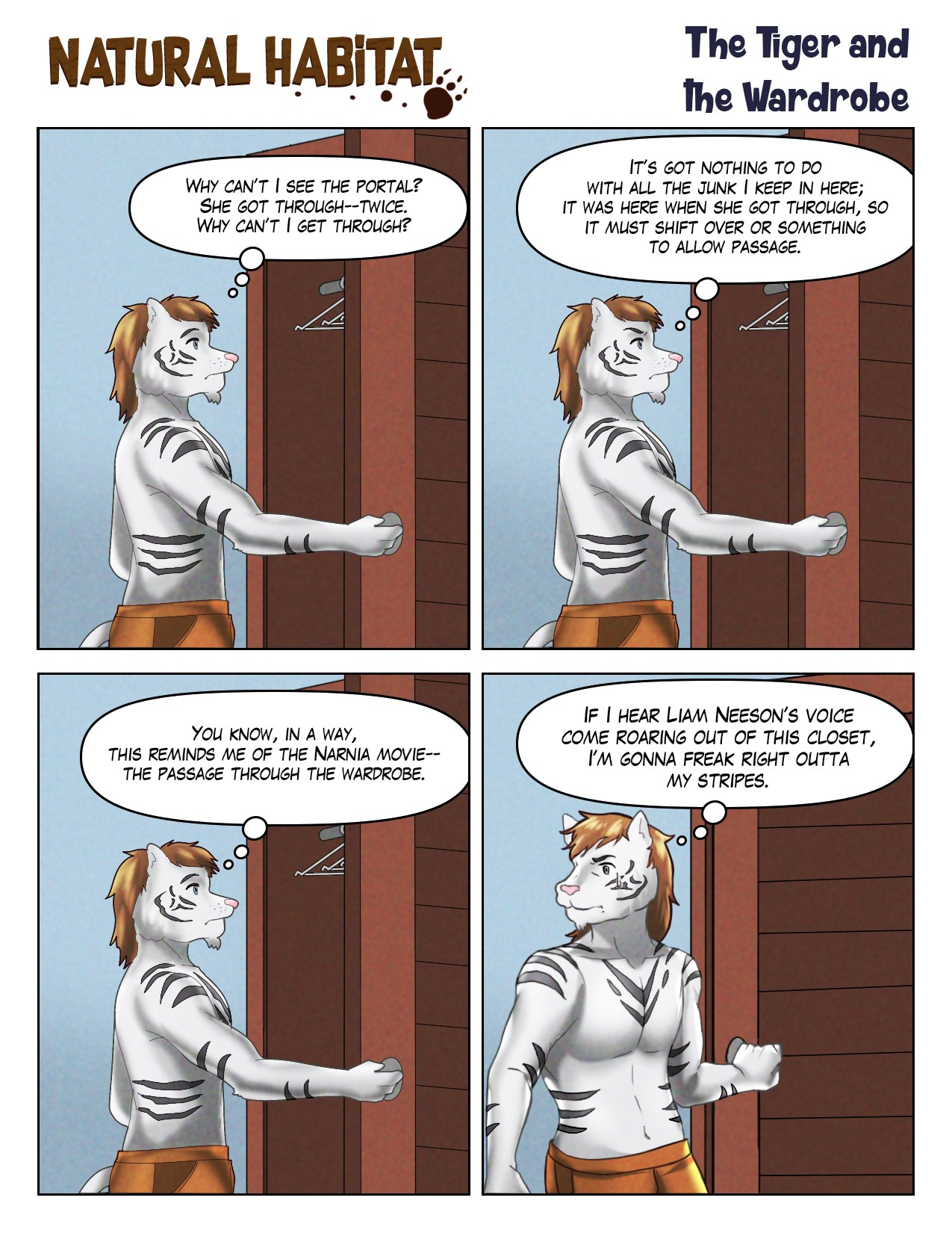 118 — The Tiger and the Wardrobe